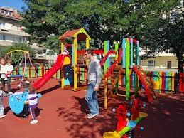 Детски площадки в Банско